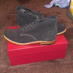 Men's wolverine black boots